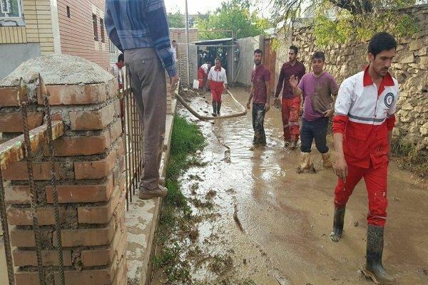 سیل 5 منزل را در خرطوط مانه و سملقان تخریب کرد ، 3 نفر مفقود شدند