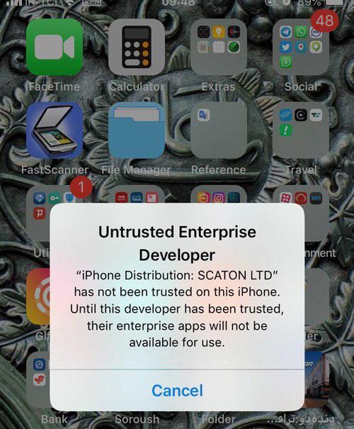 اپل، دوباره اپلیکیشن های ایرانی را غیرفعال کرد