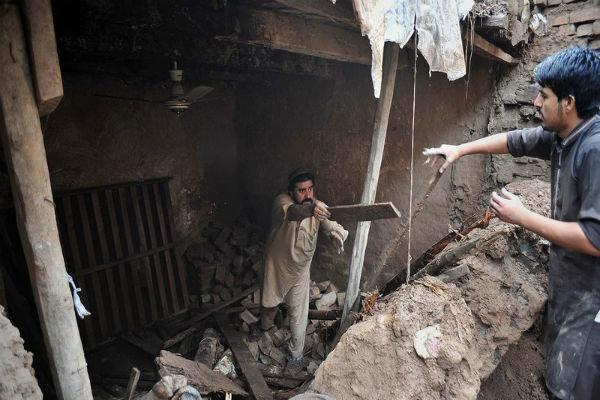 سیل در پاکستان جان 39 نفر را گرفت