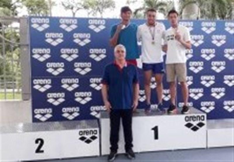 رقابت های بین المللی شنا، قره حسنلو در طلای 50 متر آزاد طلایی شد
