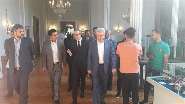 بازدید رئیس سازمان میراث فرهنگی و سفیر اتریش از مجموعه نیاوران