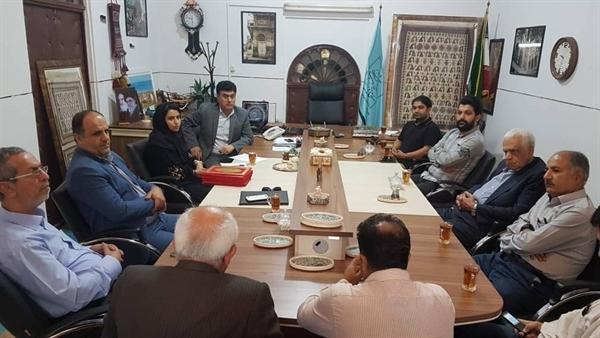 نشست هم اندیشی مدیرکل میراث فرهنگی بوشهر با فعالان ثبت آثار ملموس و ناملموس