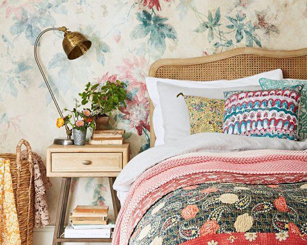 جدیدترین ایده های استفاده از کاغذدیواری در اتاق خواب