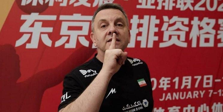 کولاکوویچ: درباره مسائل مربیان خارجی صحبت نمی کنم، هیس را در جواب به افراد خاصی دادم