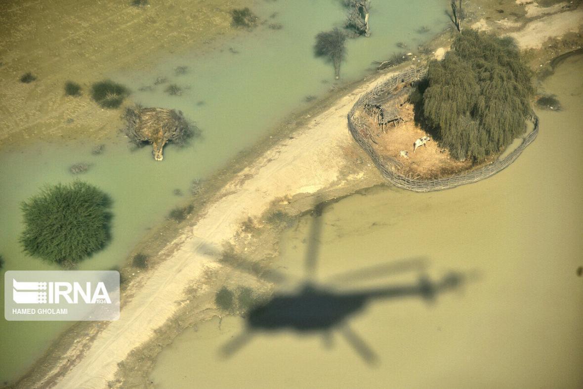 خبرنگاران آب 13 روستای سیلزده سیستان و بلوچستان همچنان قطع است